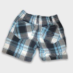2/$15🥳 U.S Polo Assn Checkered Blue Shorts